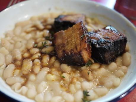Pork Belly & White Beans
