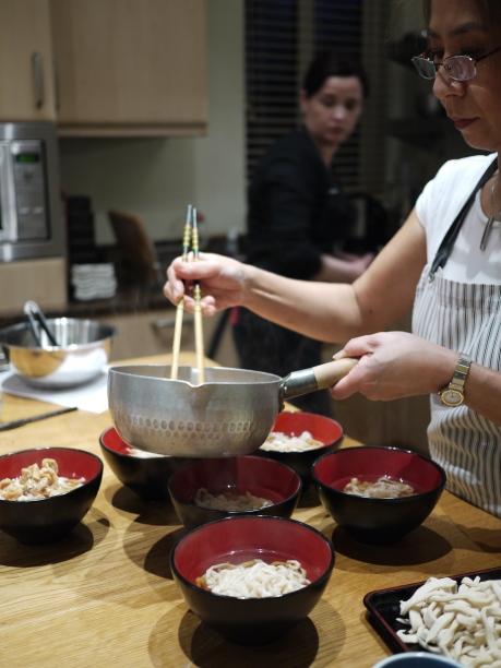 Hashi Cooking Fresh Noodle Making Class